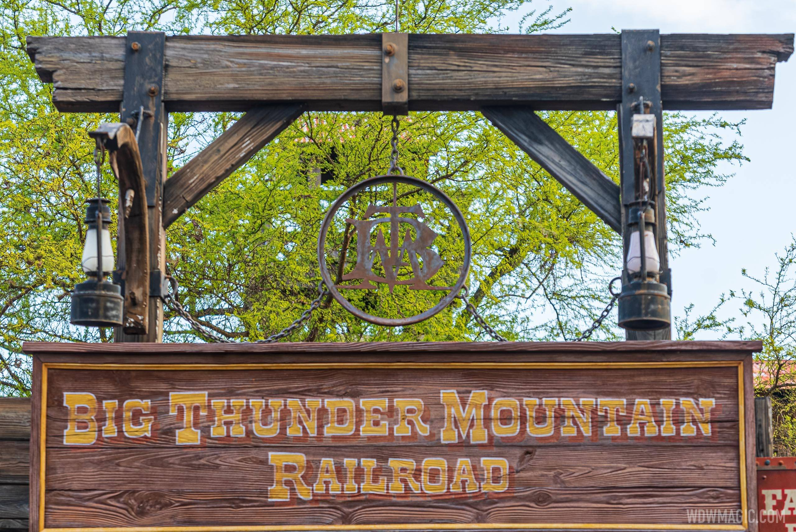 Big Thunder Mountain Railroad overview
