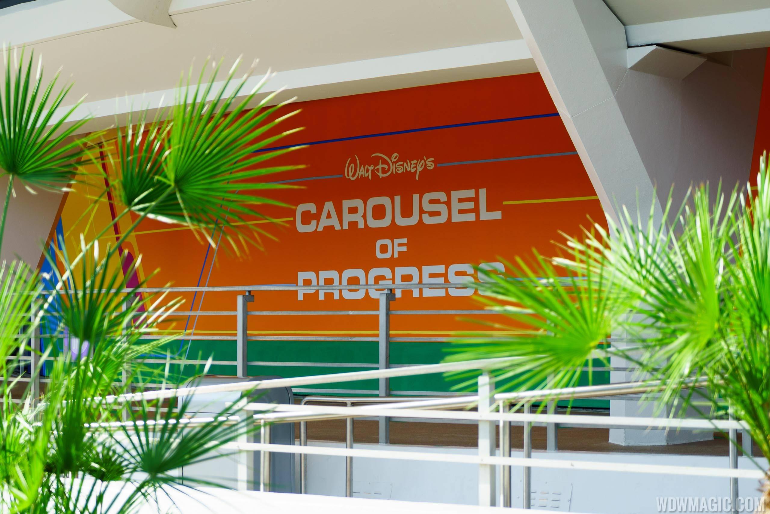 New exterior paint scheme at Carousel of Progress