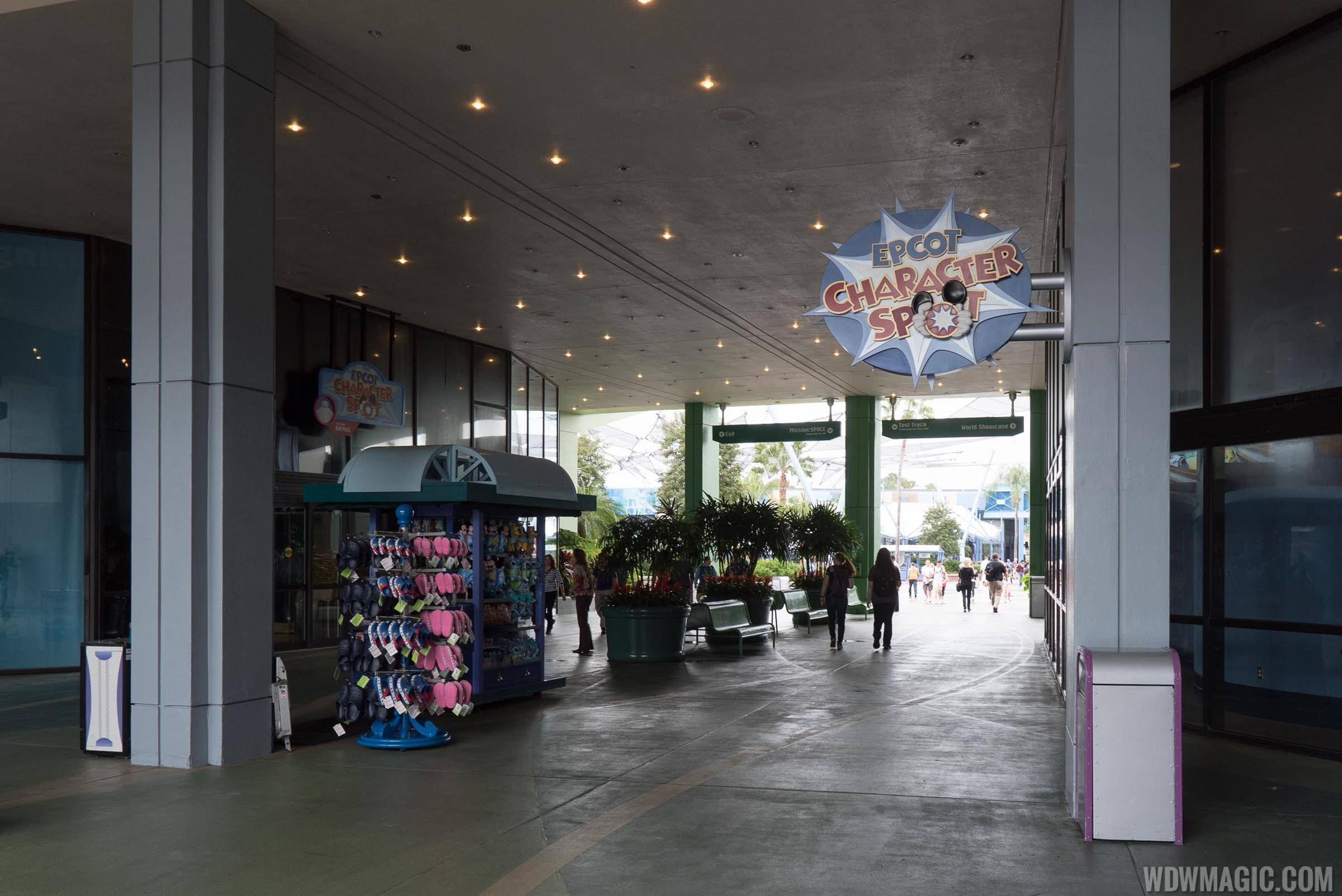 Epcot Character Meet and Greet overview