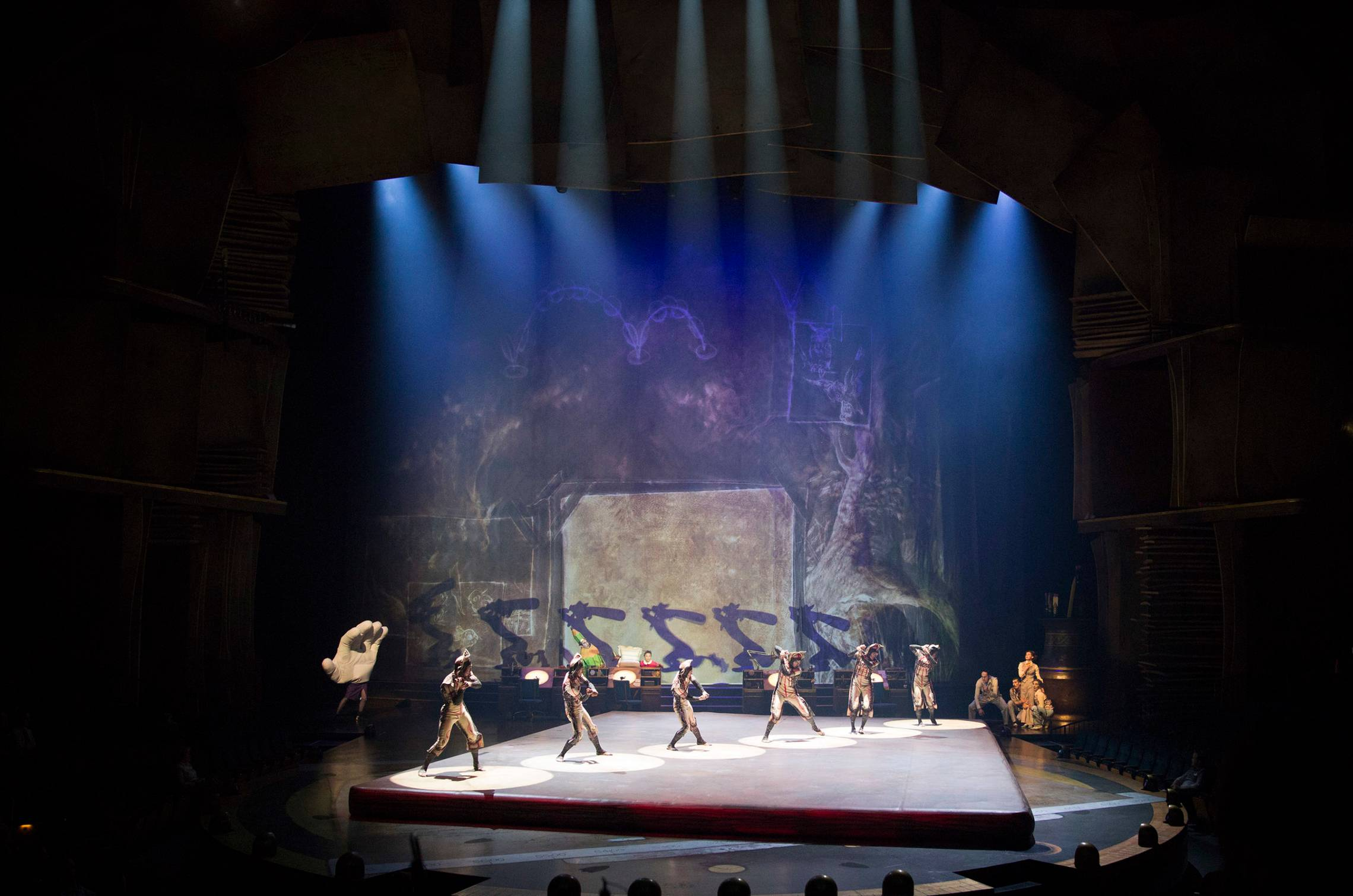 New 'Drawn to Life' Cirque du Soleil show at Walt Disney World