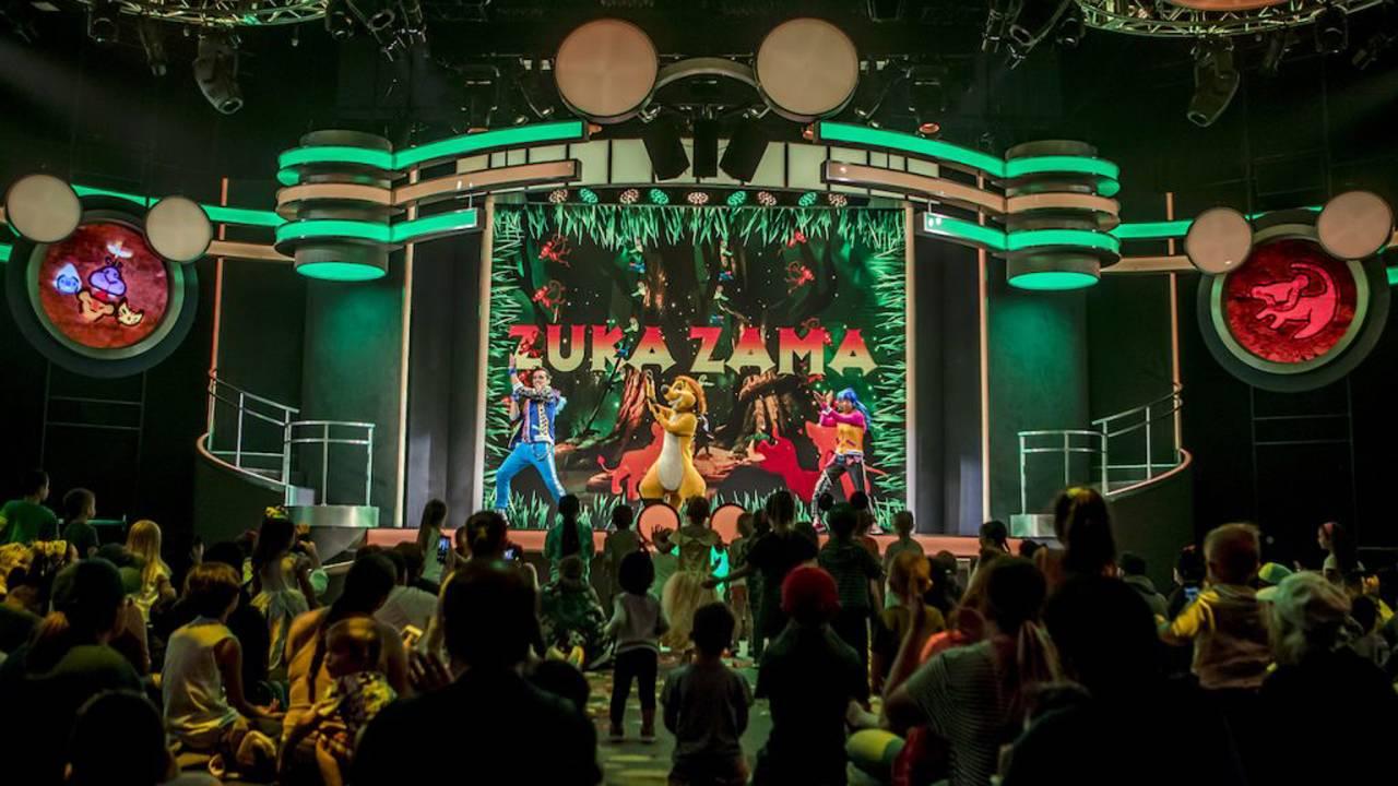 Disney Junior Dance Party concept art