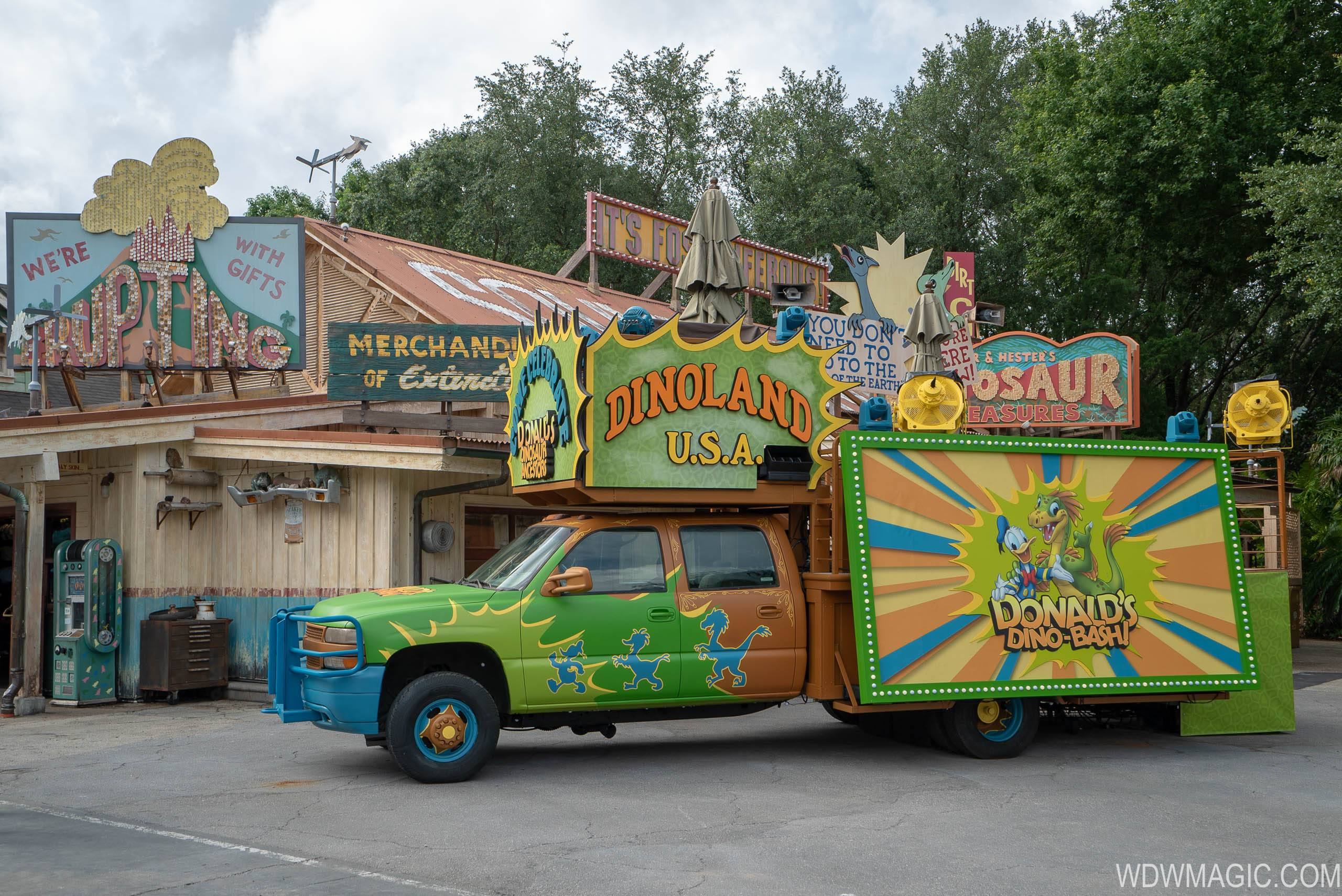 Donald's Dino-Bash overview