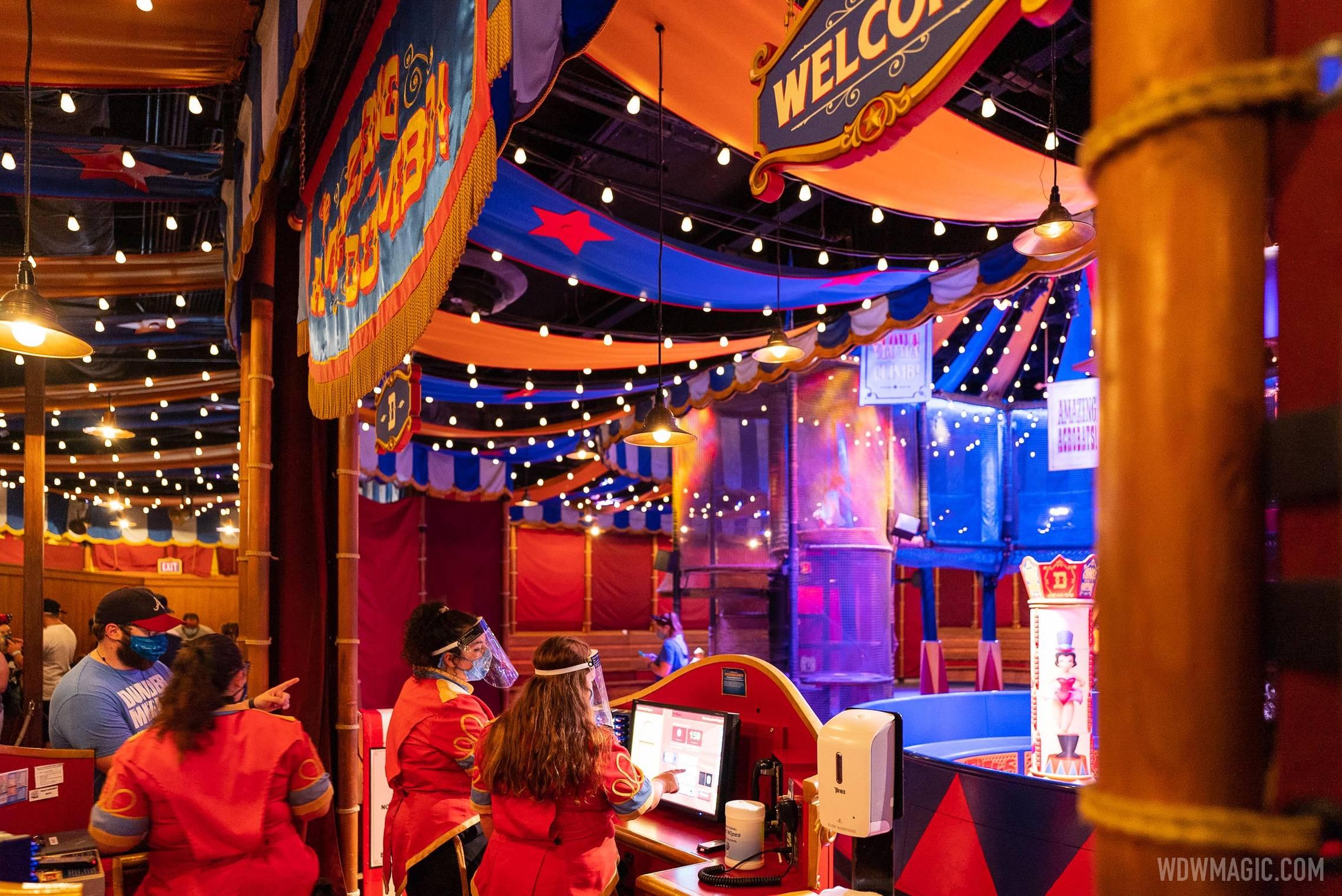 Dumbo queue indoor playground reopens - June 7 2021