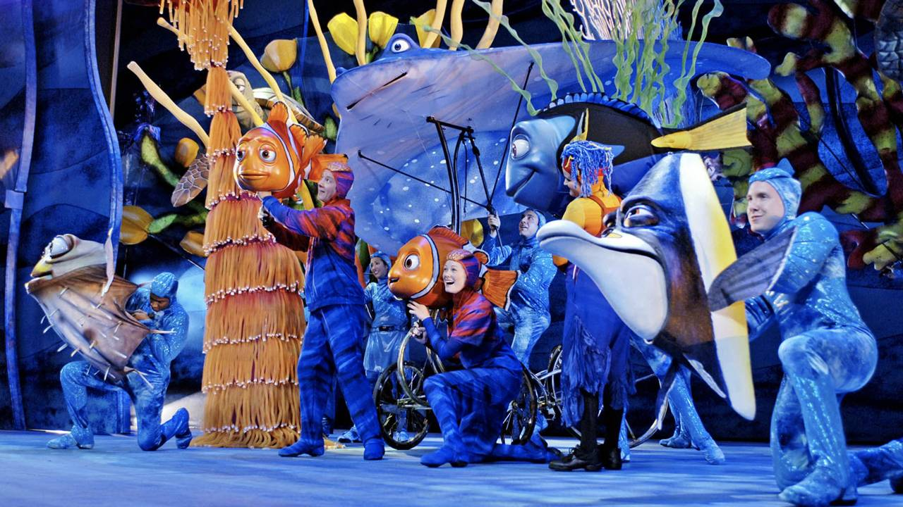 Finding Nemo the Musical overview