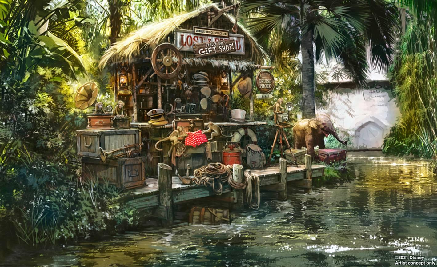 Jungle Cruise concept art