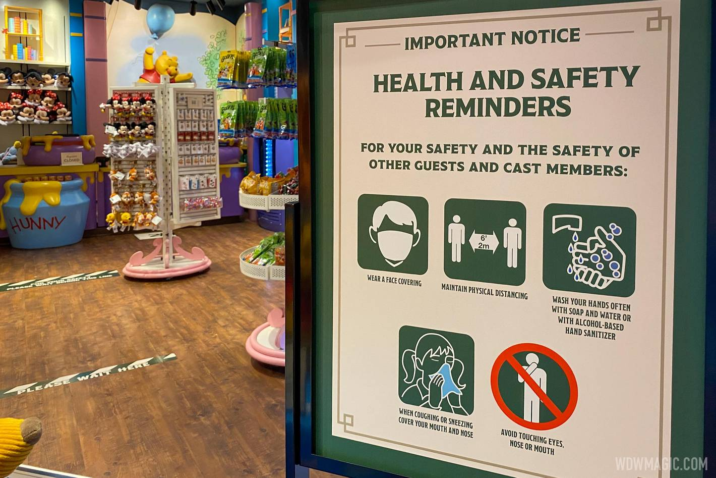 Disney theme parks have been under COVID-19 restrictions since reopening in July 2020
