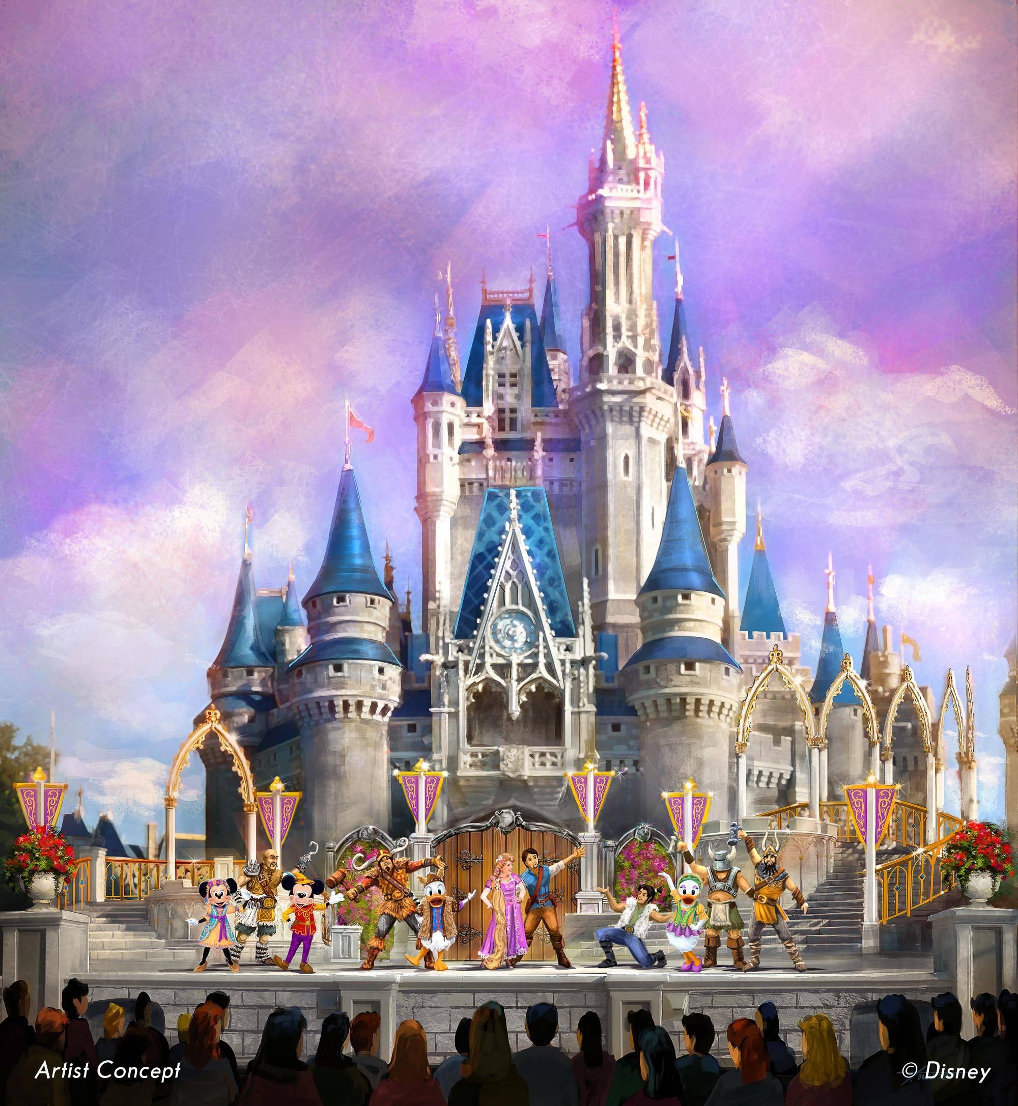 Mickey's Royal Friendship Fair concept art