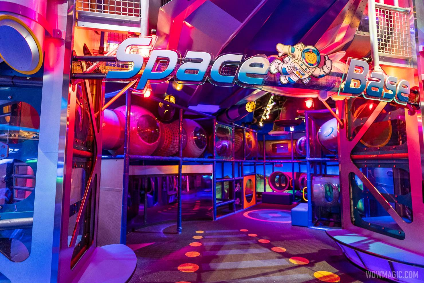 Space Base Mission SPACE playground reopens