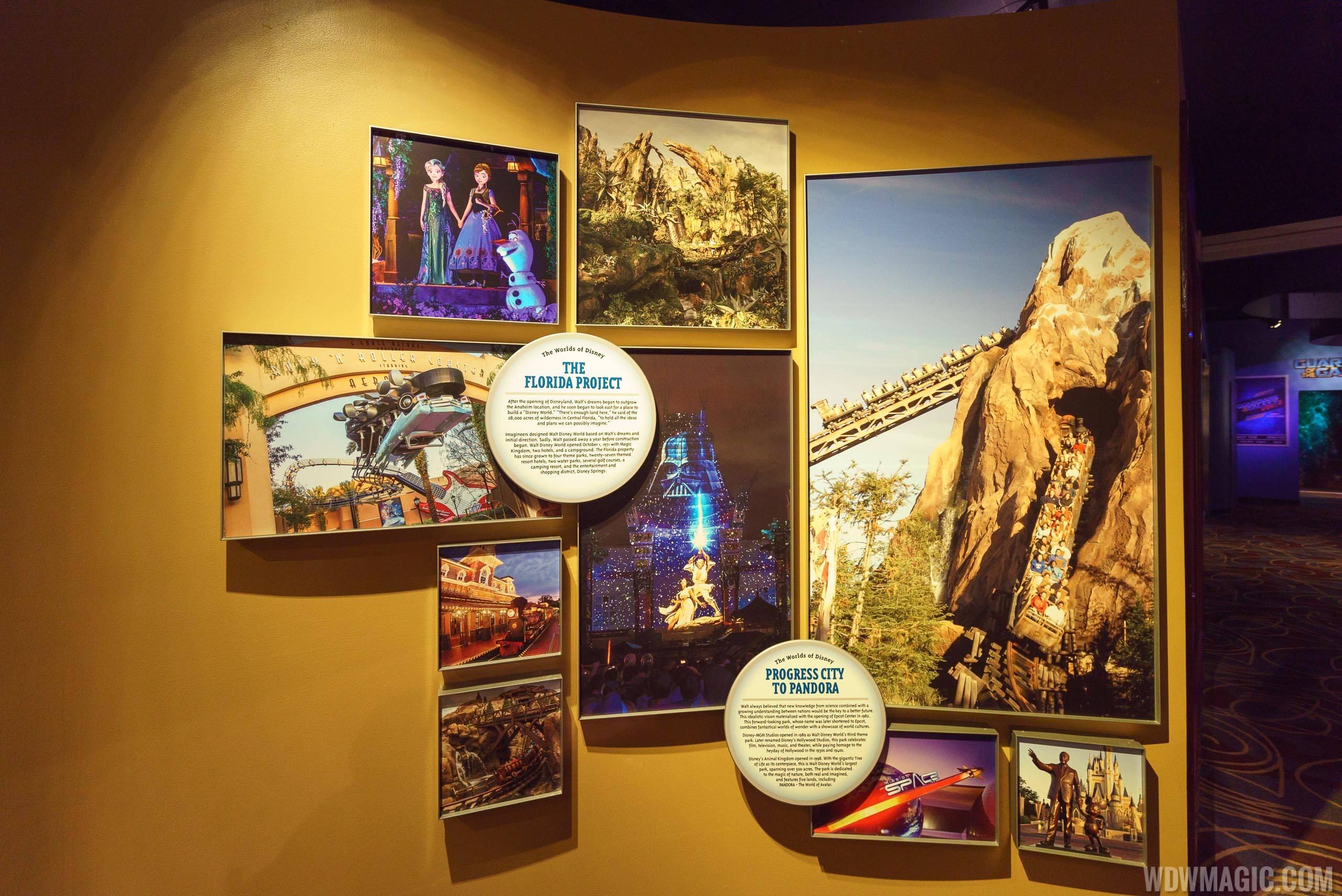 Walt Disney Presents new exhibits