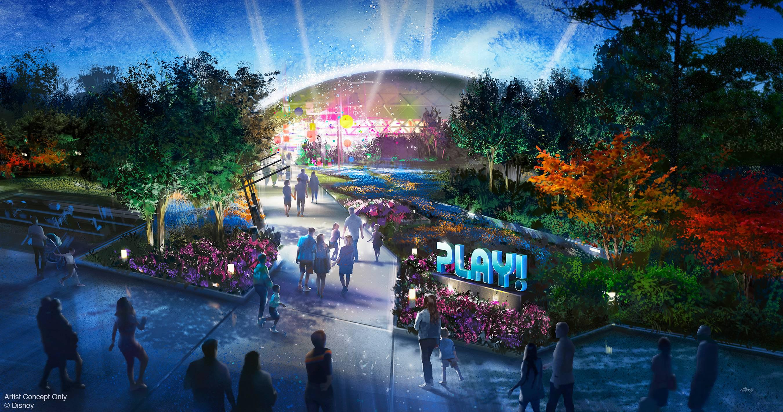 PLAY! pavilion concept art