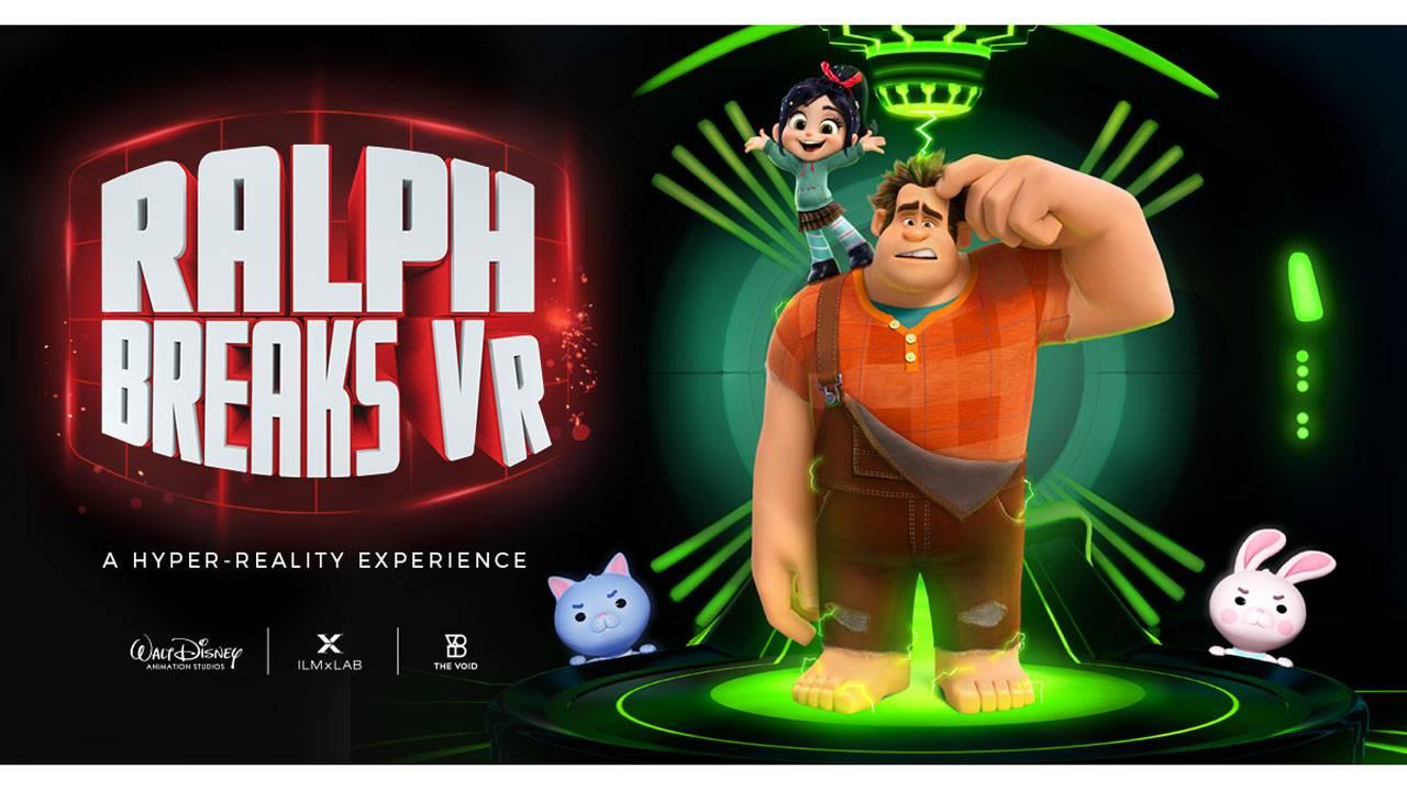 Ralph Breaks VR overview