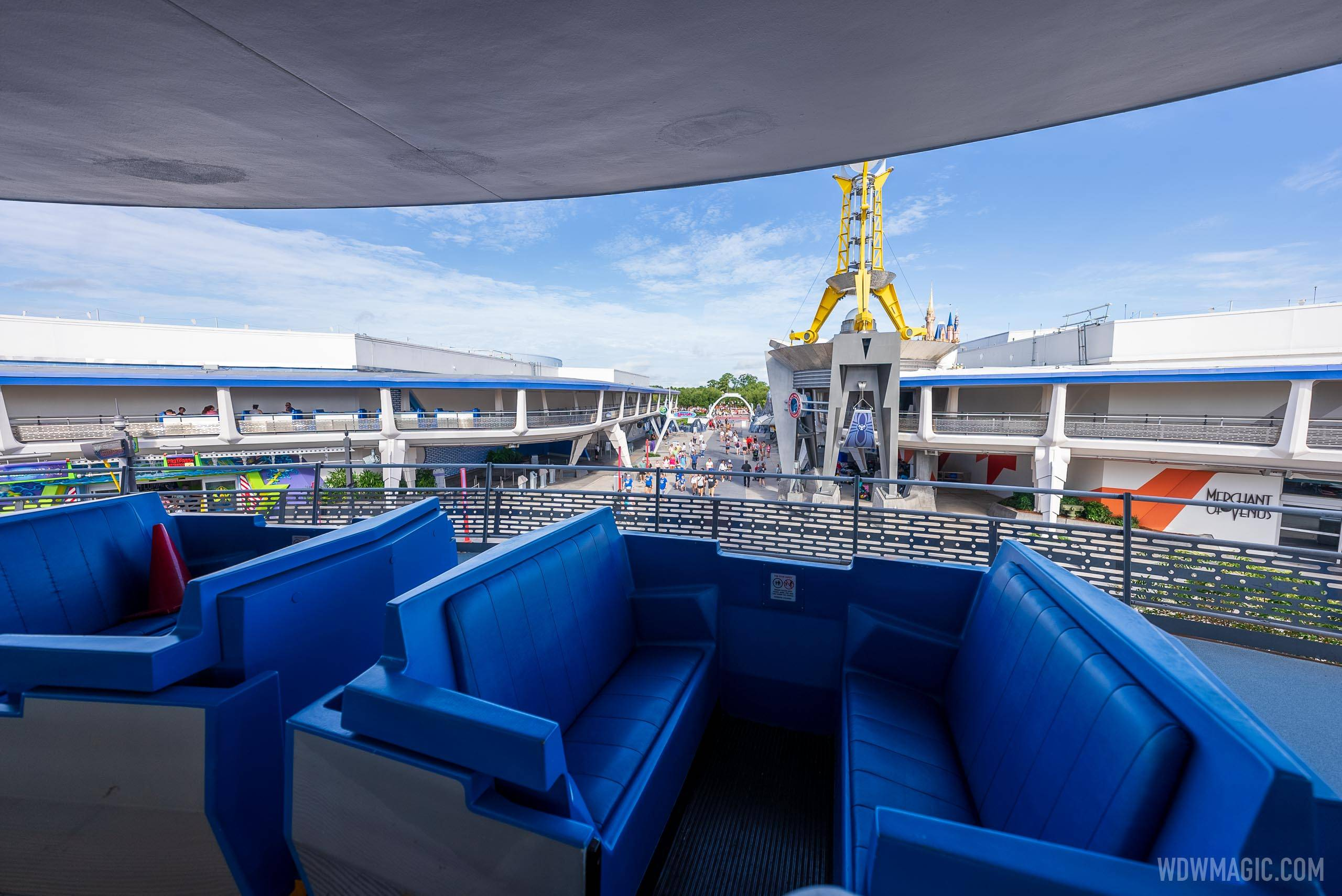Tomorrowland Transit Authority PeopleMover overview