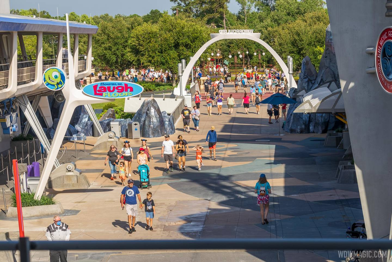 Tomorrowland concrete work - May 20 2021