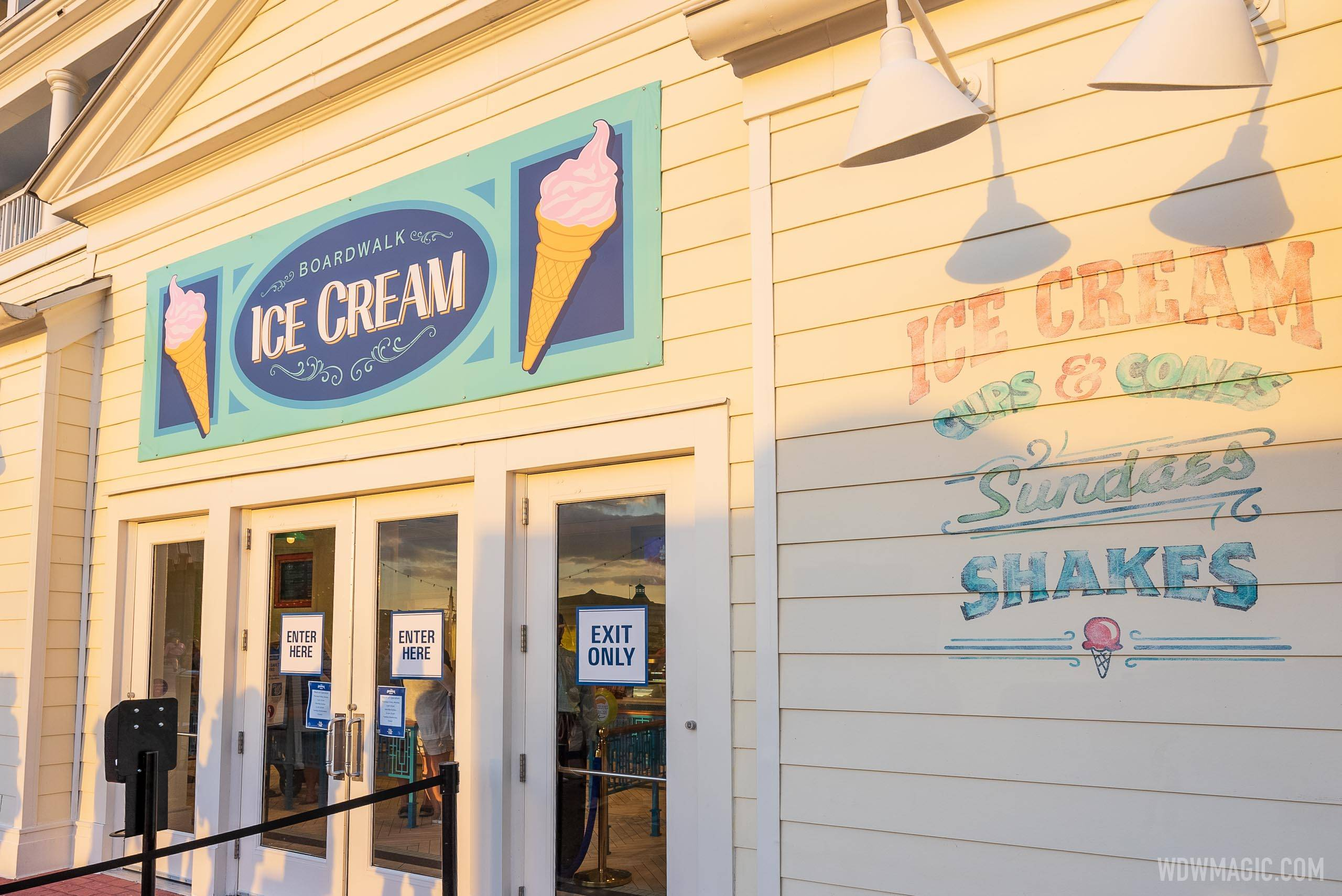 BoardWalk Ice Cream overview