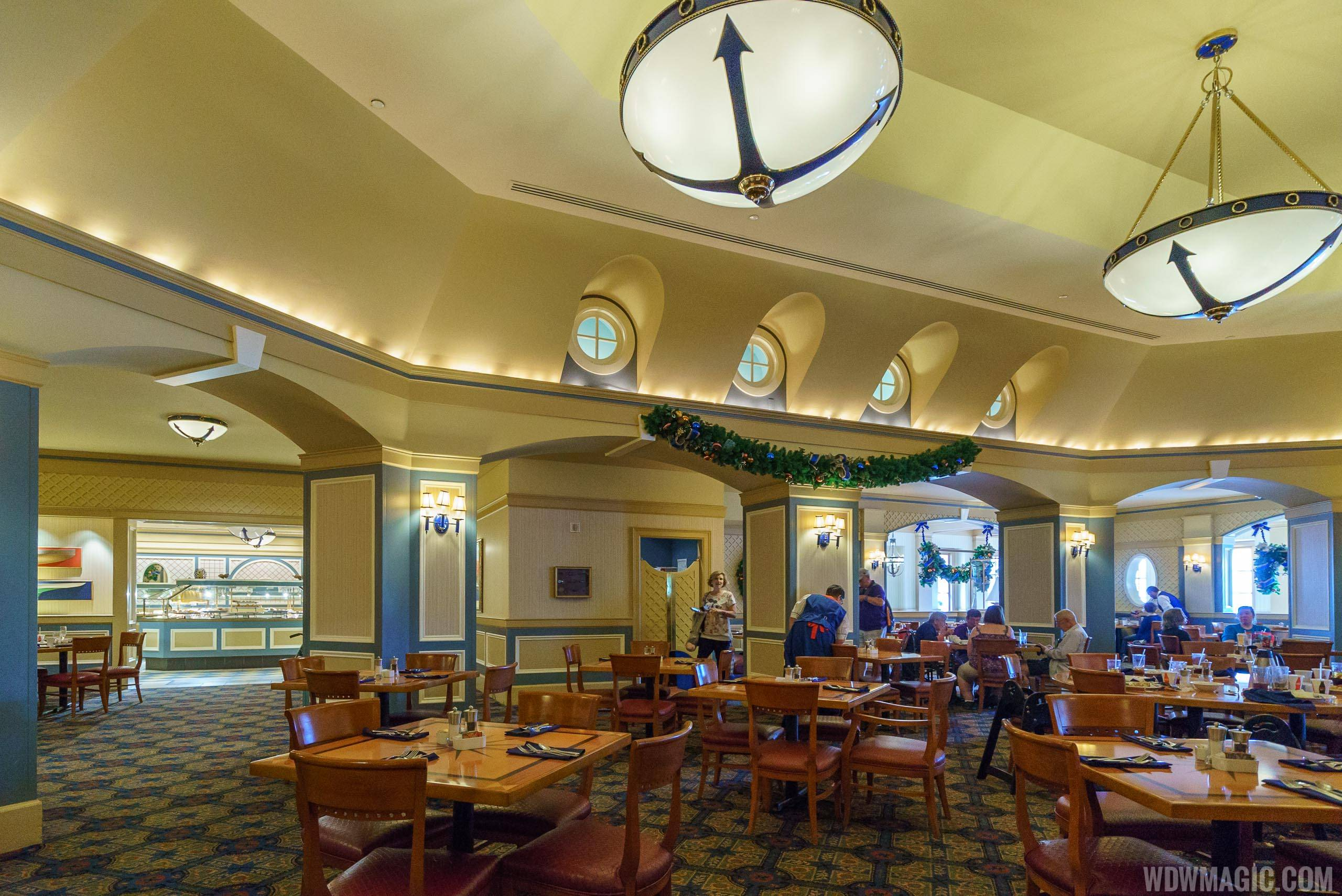 Captain's Grille overview