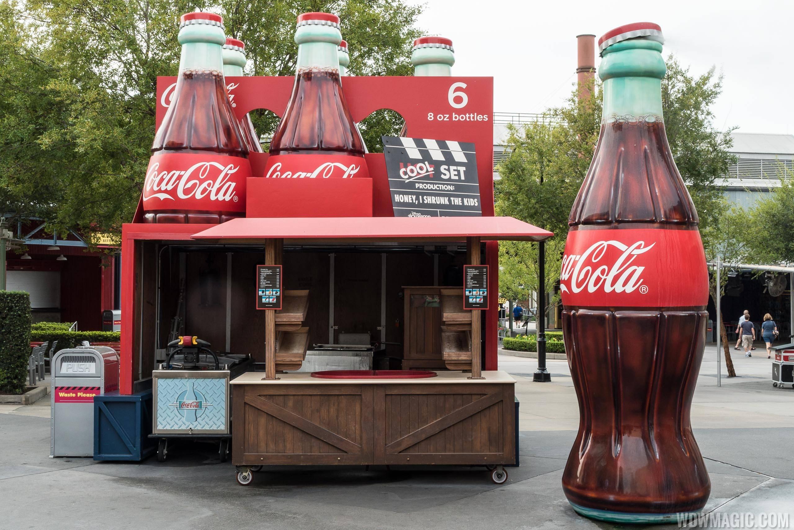 Coke Bottle Cool Zone overview