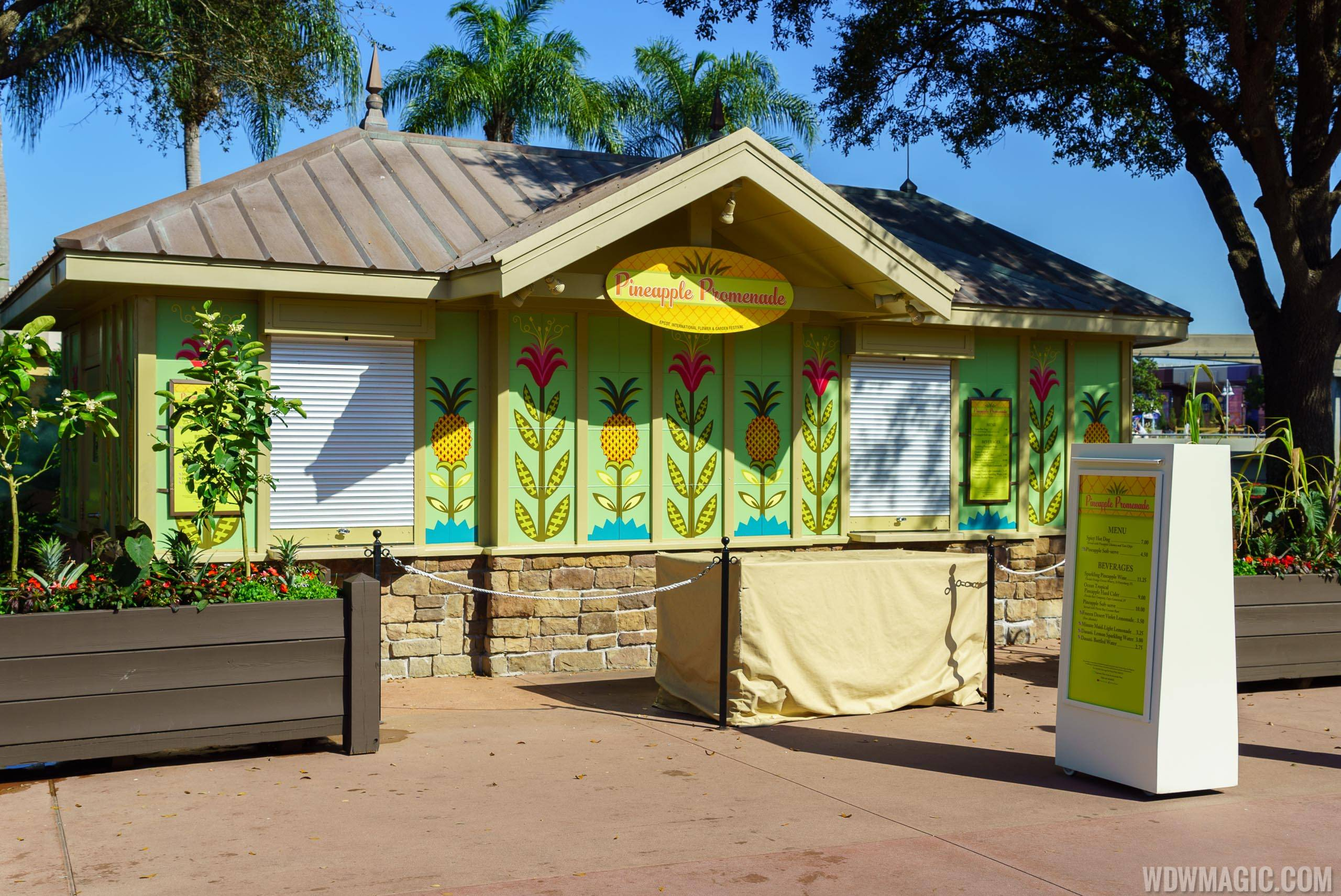 Pineapple Promenade overview