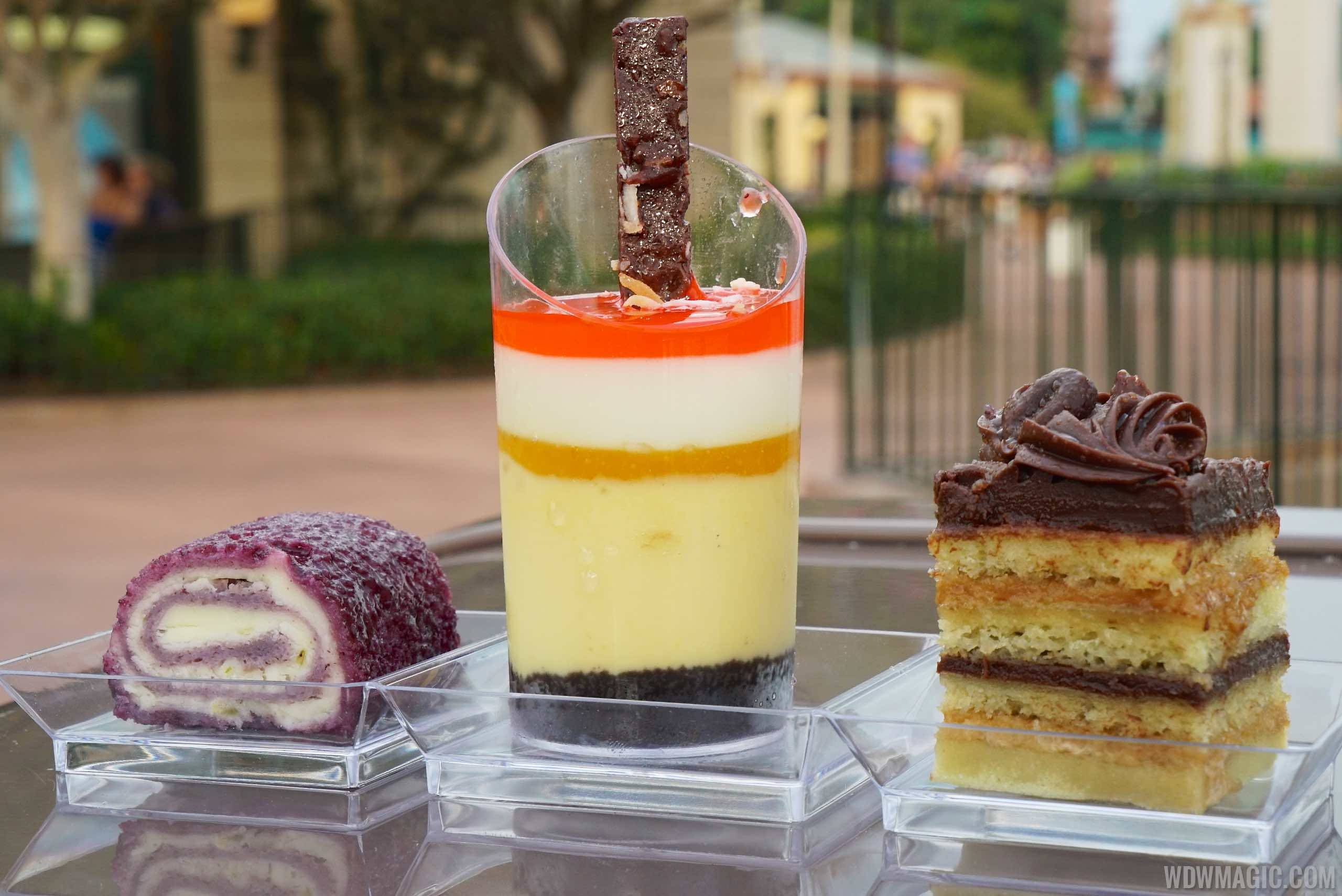 Desserts and Champagne Food and Wine Marketplace overview