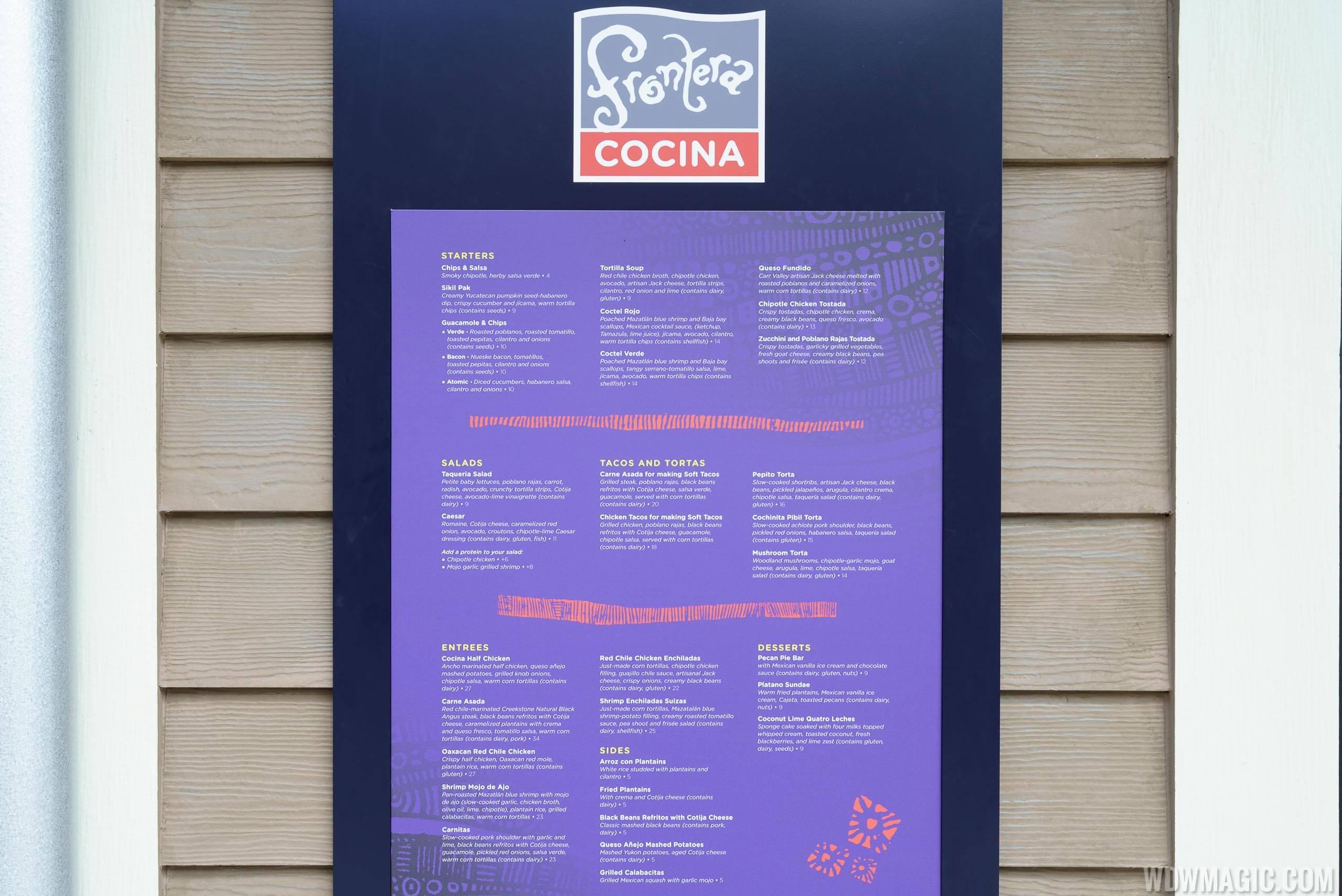 Frontera Cocina overview