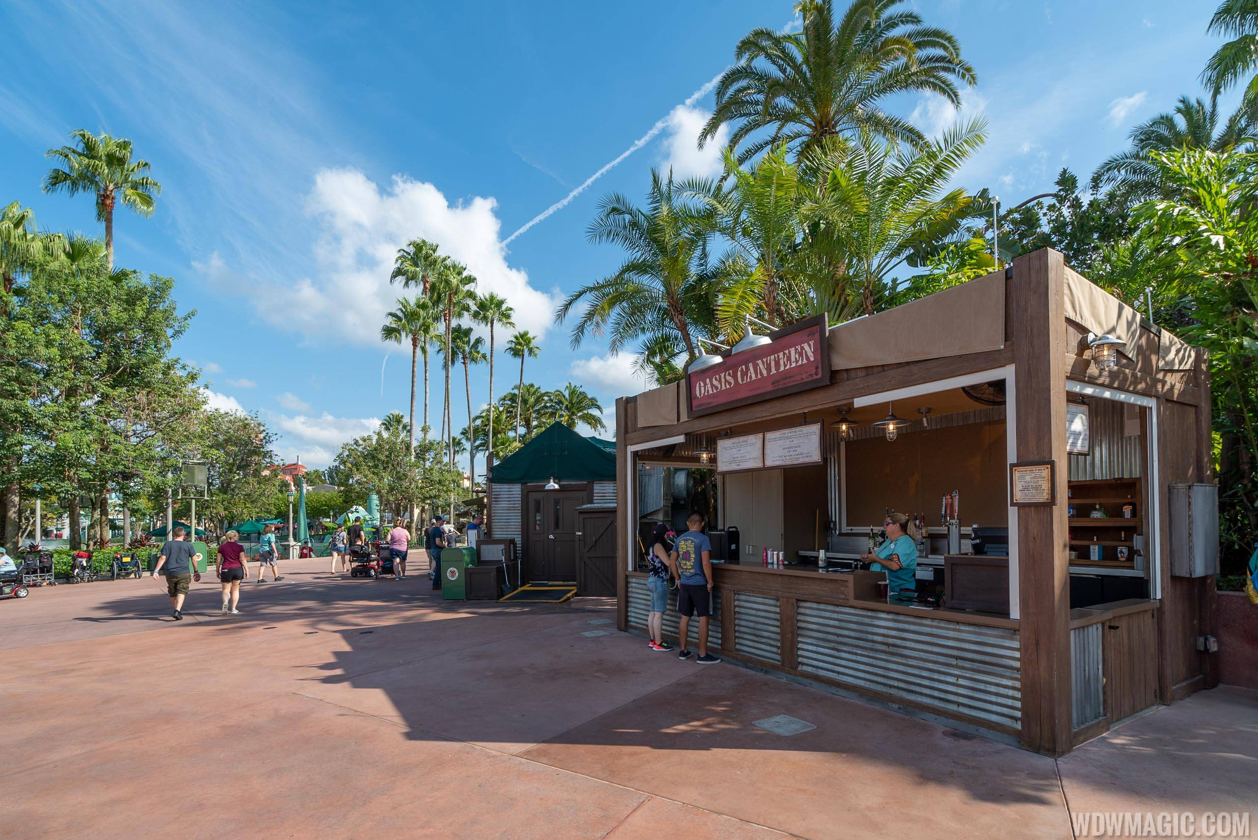 Oasis Canteen overview