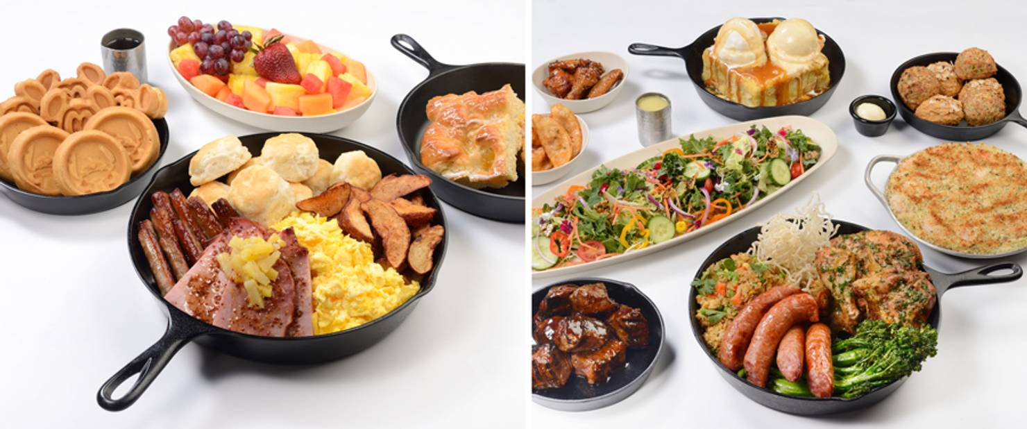 'Ohana breakfast and dinner July 2021