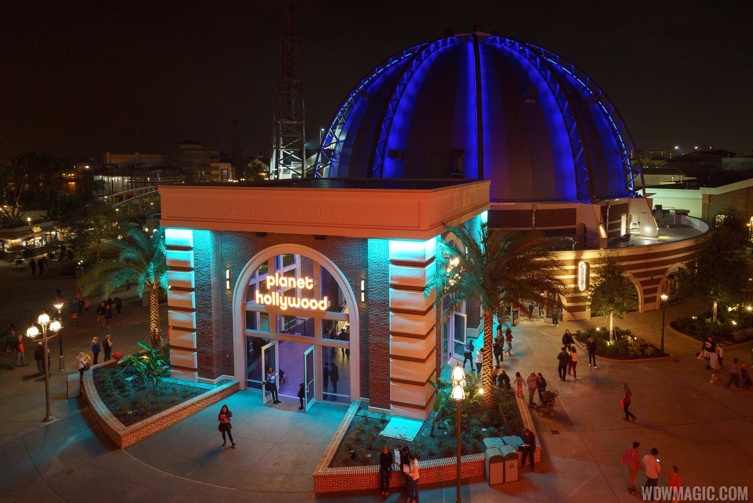 Planet Hollywood Observatory opening day
