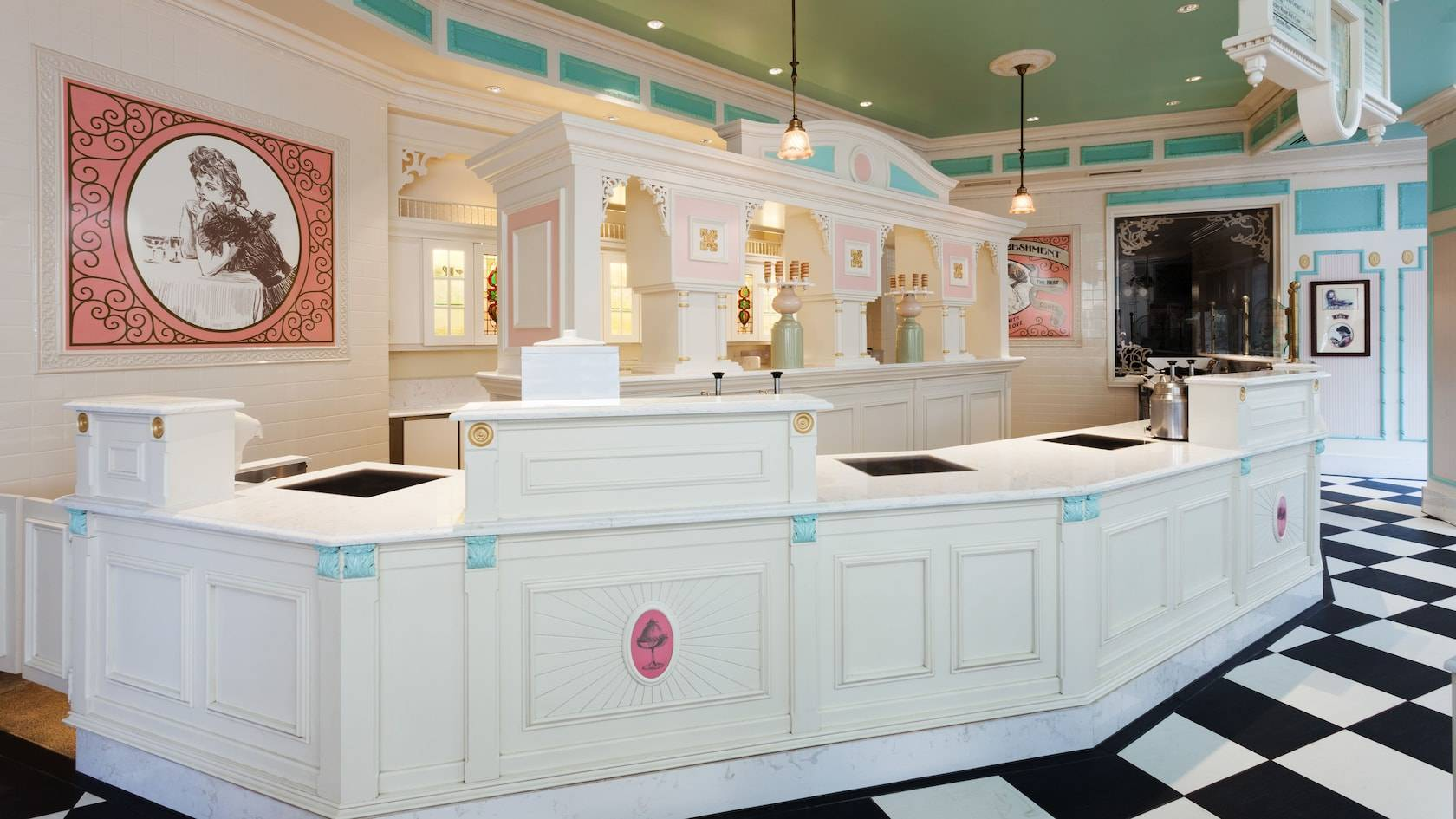 Plaza Ice Cream Parlor overview