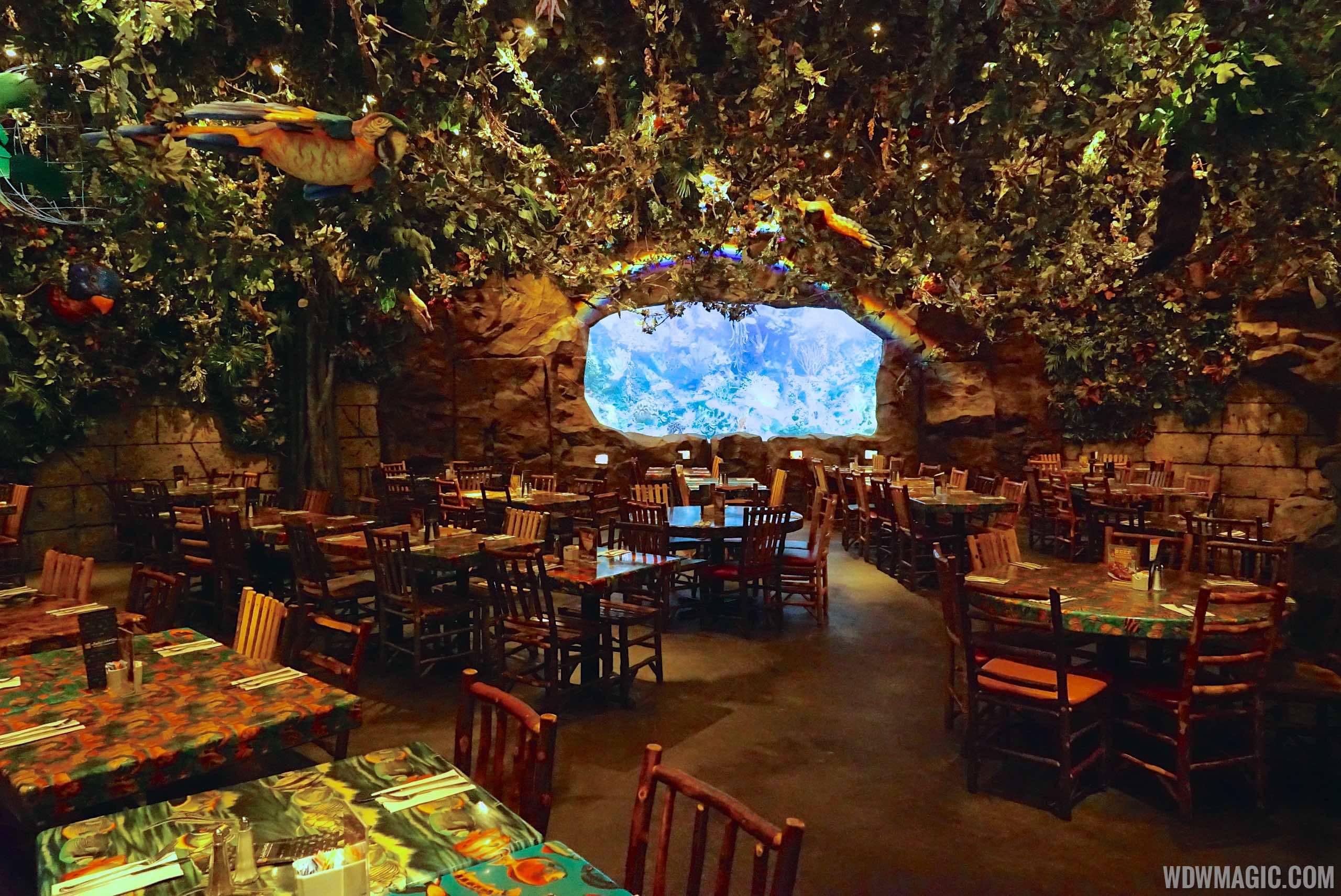 Rainforest Cafe Disney's Animal Kingdom overview