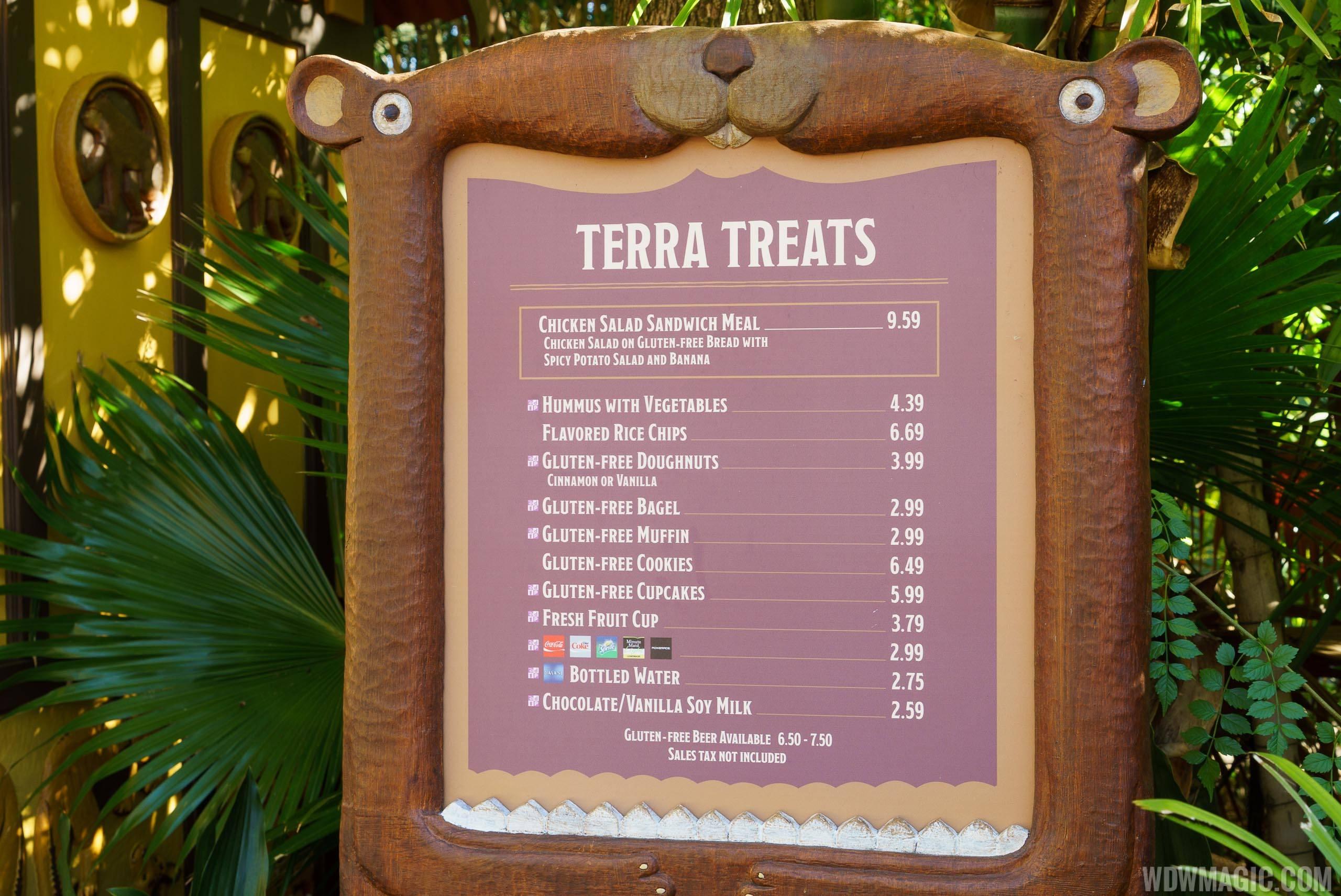 Terra Treats overview