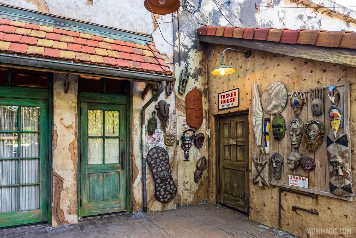 Tusker House has recently reopened at Disney's Animal Kingdom