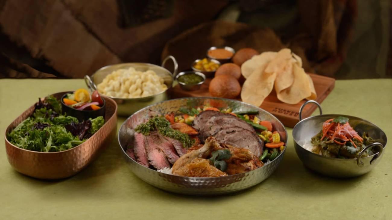 Tusker House dinner