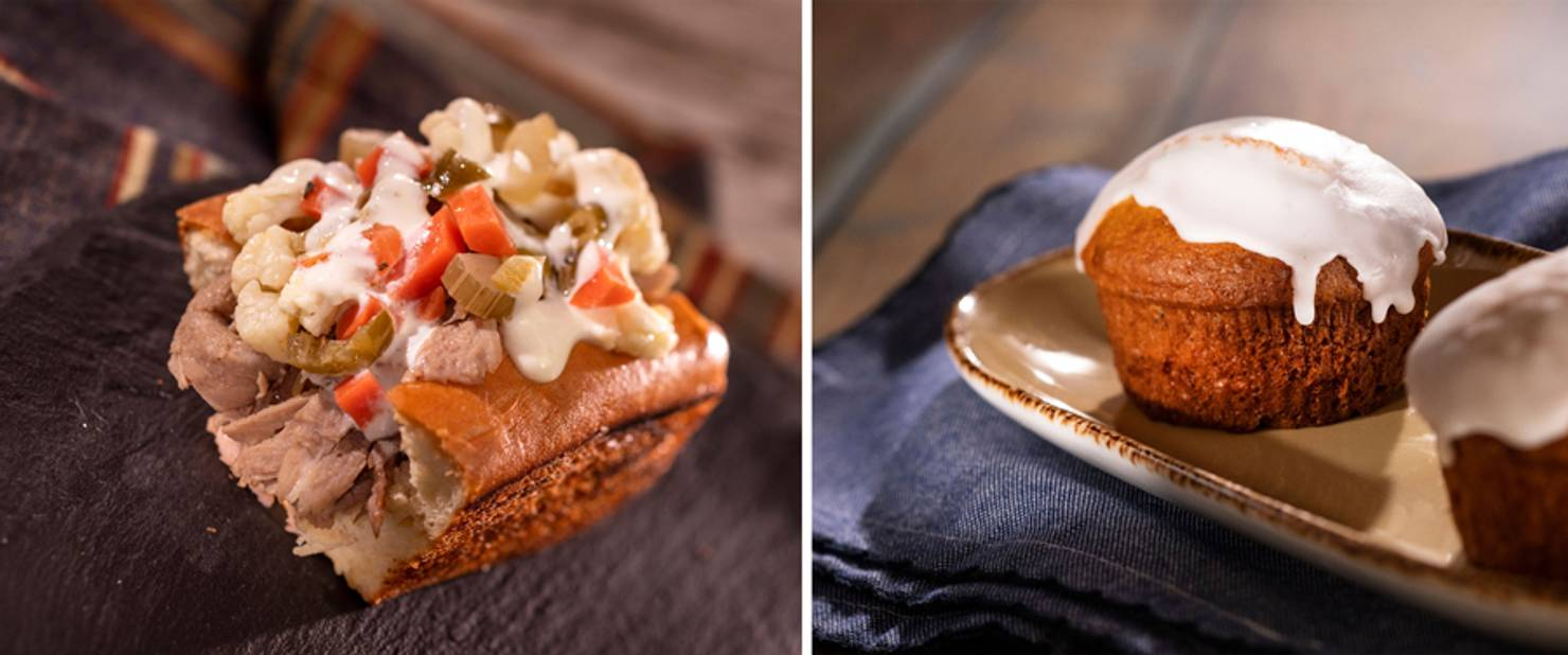 Hops & Barley - Hot Beef Sandwich and Carrot Cake