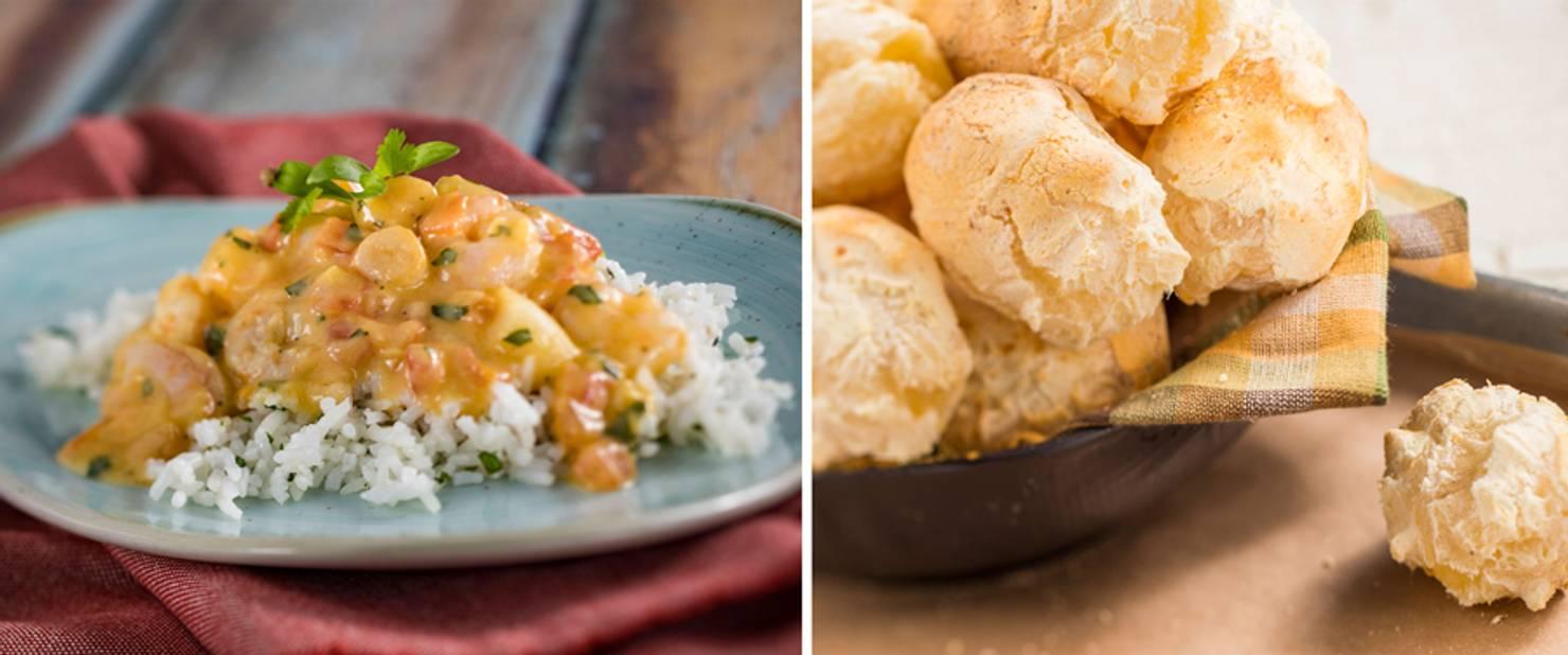 Brazil - Brazilian Seafood Stew and Brazilian Cheese Bread