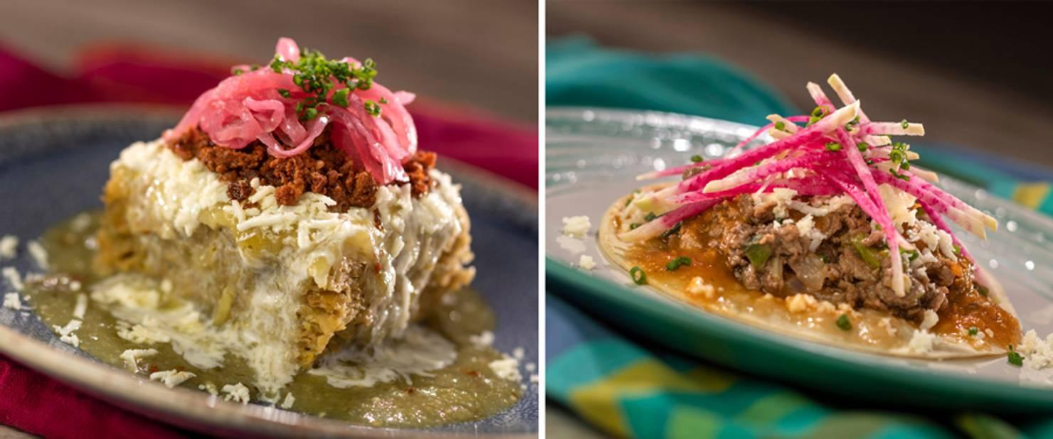 Mexico - Abuelita Chocolate Bread Pudding and Taco de Ribeye