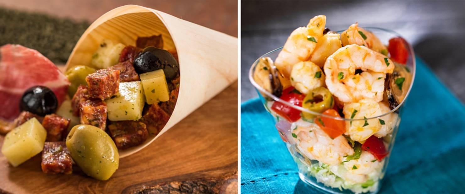 Spain - Charcuterie and Seafood Salad