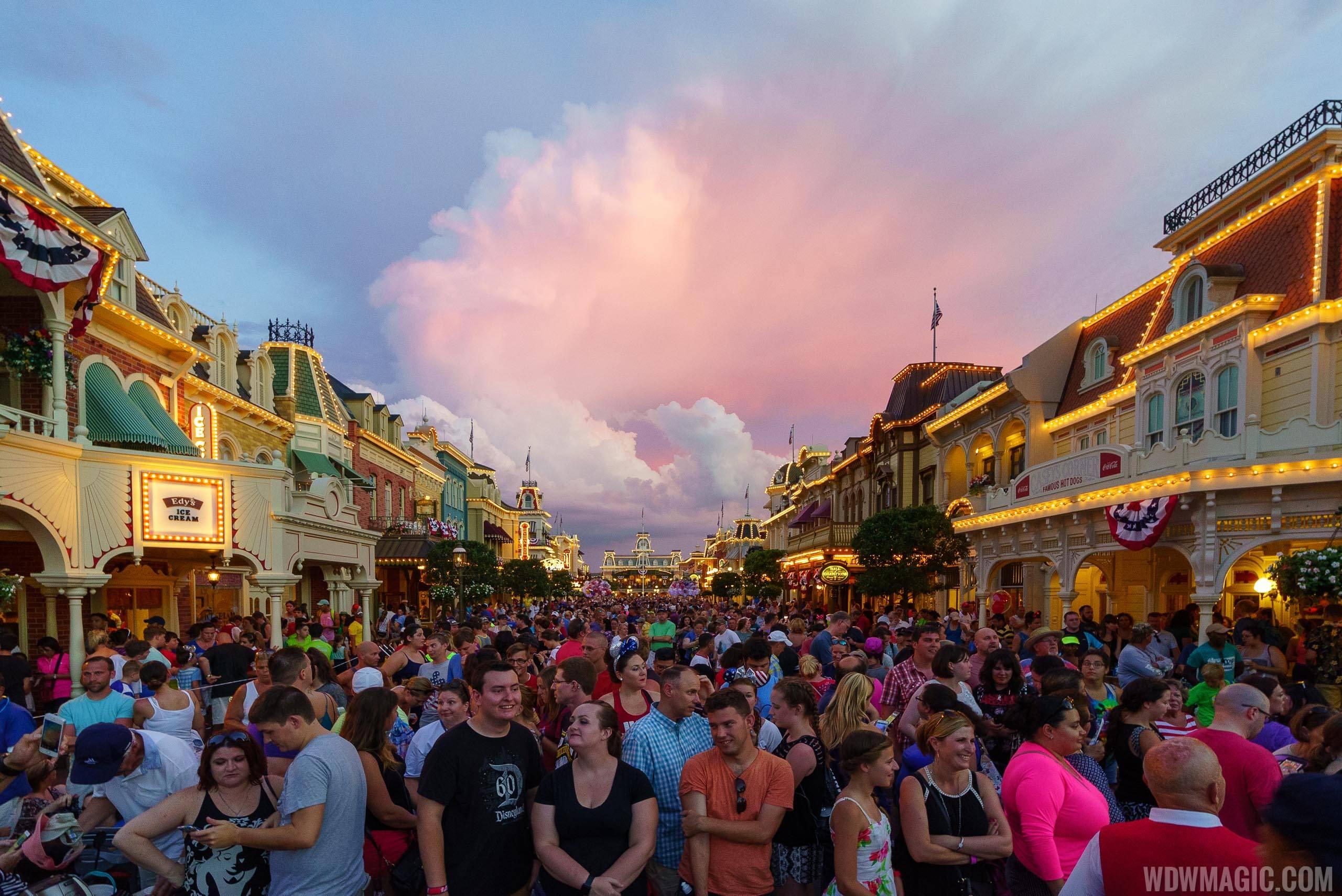 Fourth of July at Walt Disney World
