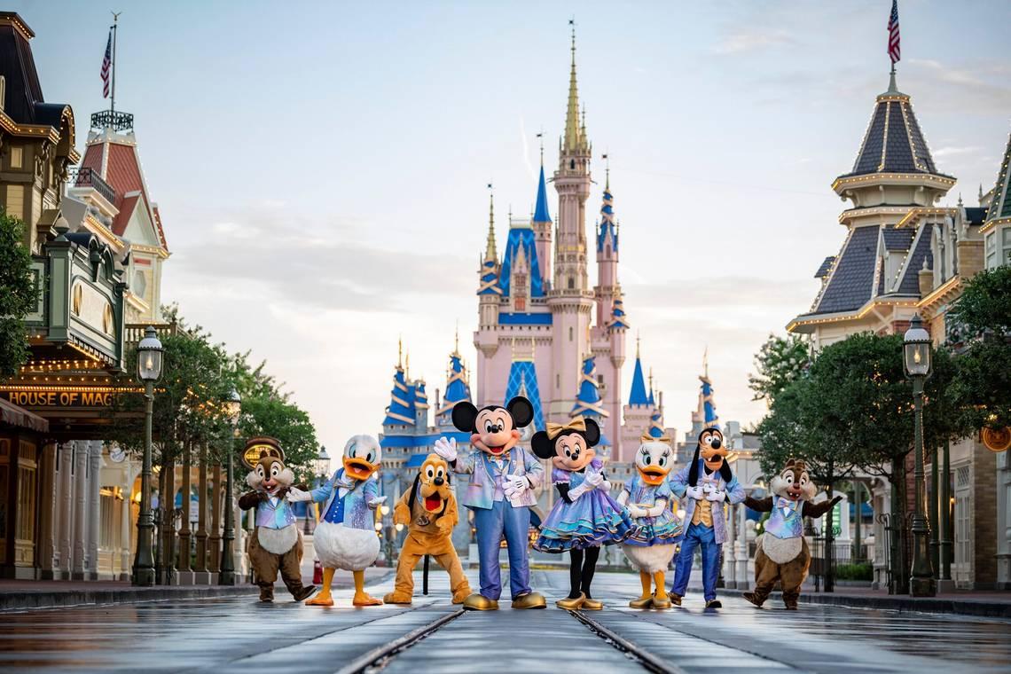 Walt Disney World 50th anniversary character costumes