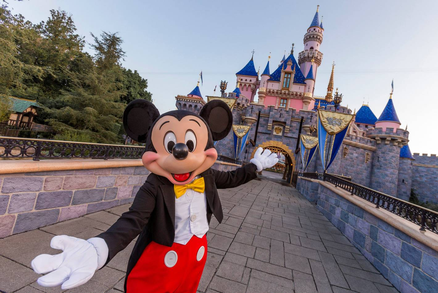 Disneyland will be open to guests from outside of its home state from June 15