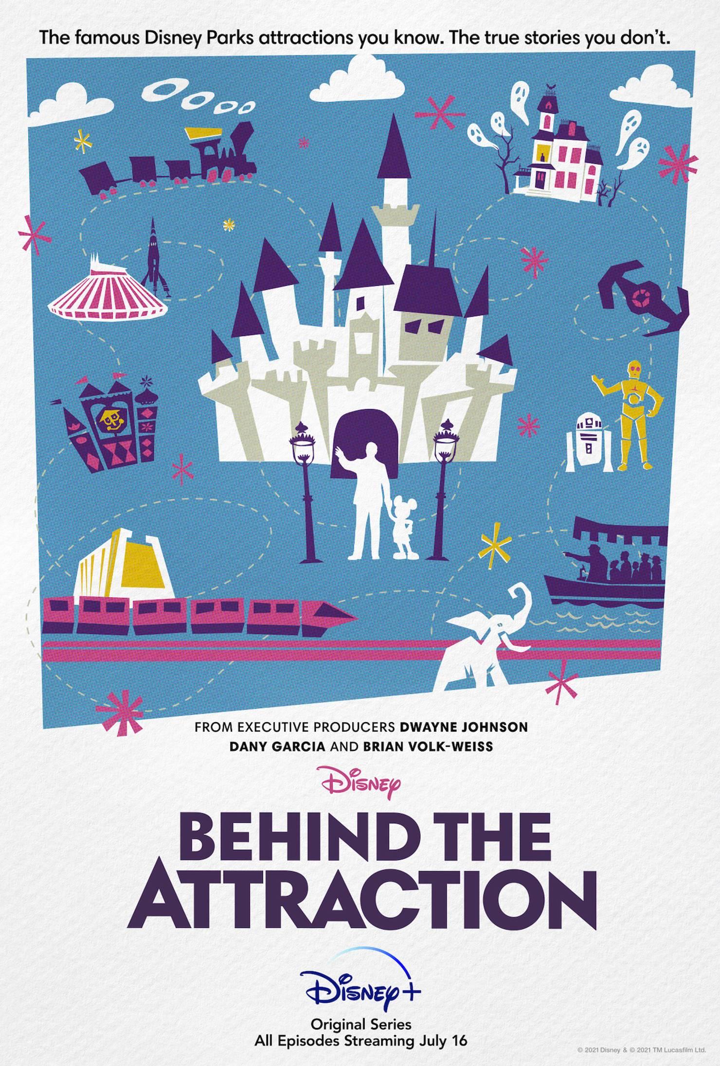 Disney+ Behind the Attraction original series