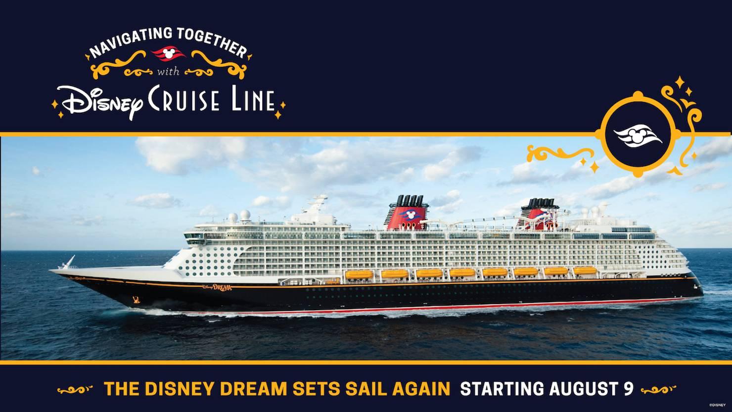 Disney Dream resumes cruises