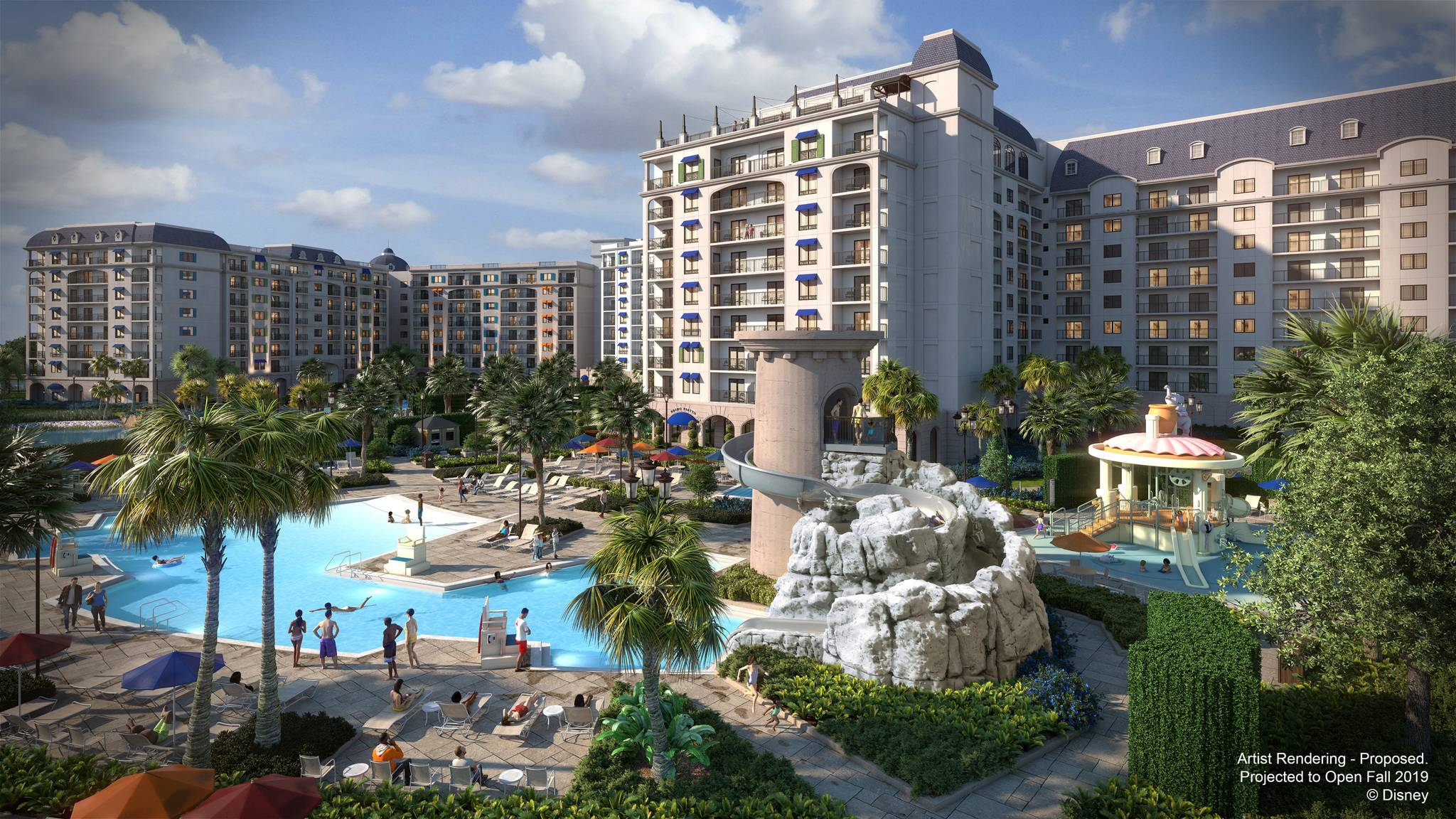 New Disney Riviera Resort concept art
