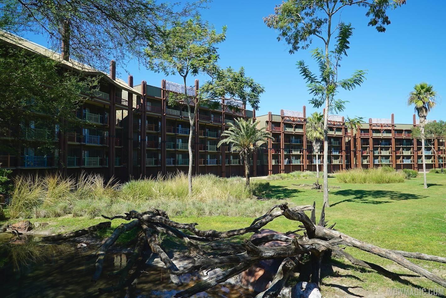 The savanna at Disney's Animal Kingdom Lodge