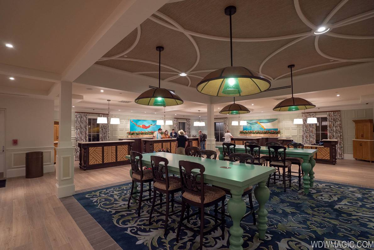 Caribbean Beach Resort was one of the first Disney resorts to move to free-flowing open check-in areas in 2018