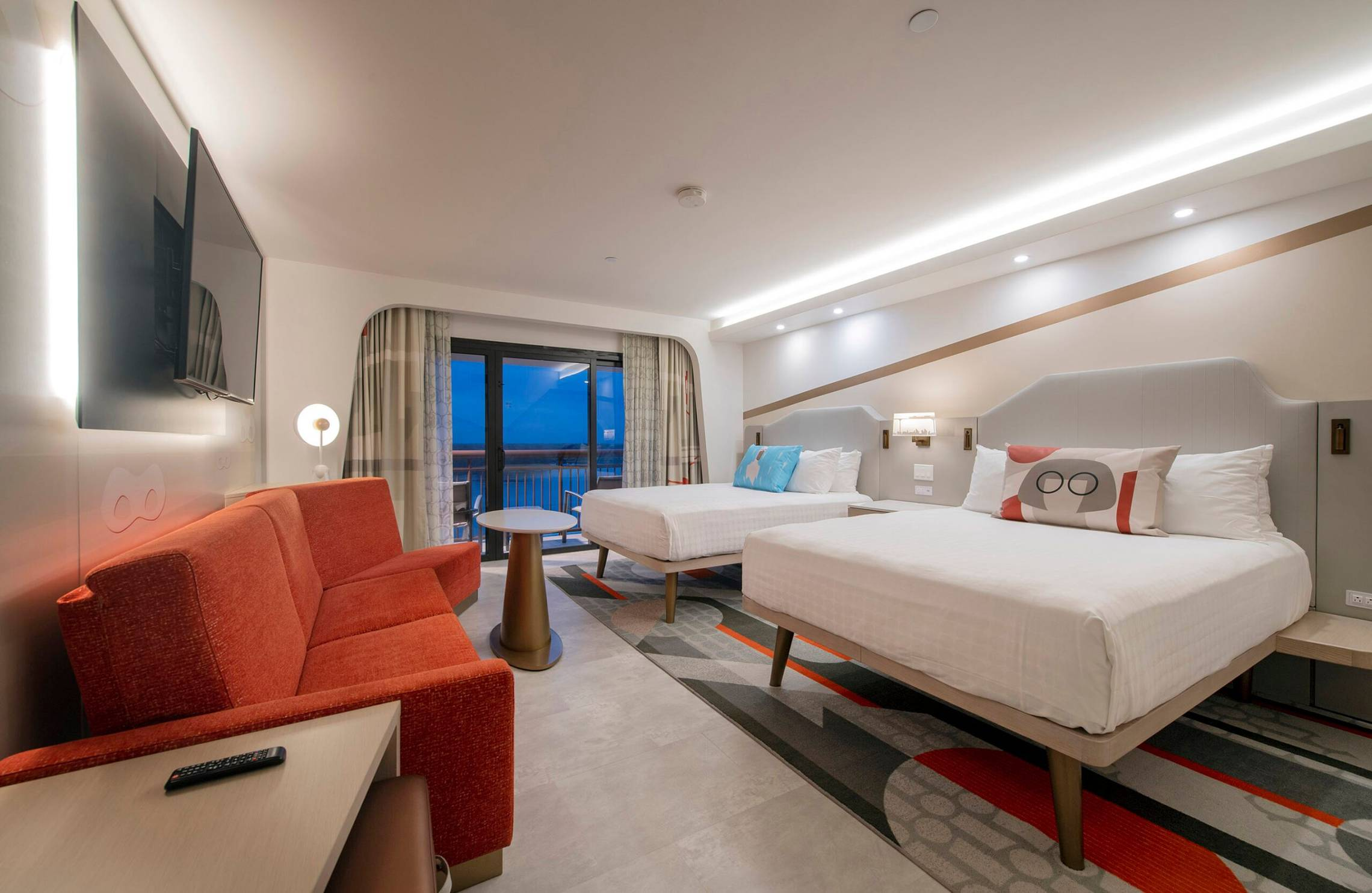 Inside the new-look 2021 Contemporary Resort rooms designs