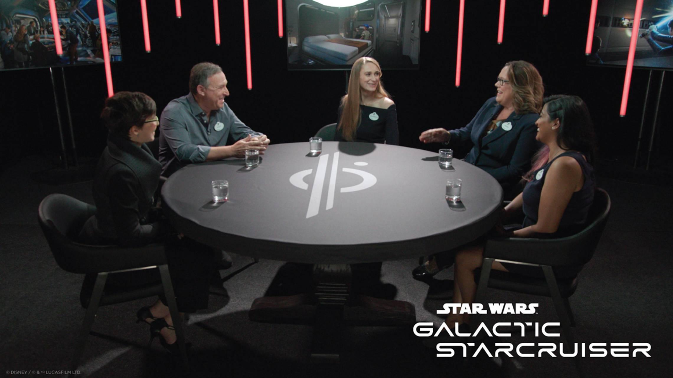 Imagineering roundtable Star Wars Galactic Starcruiser