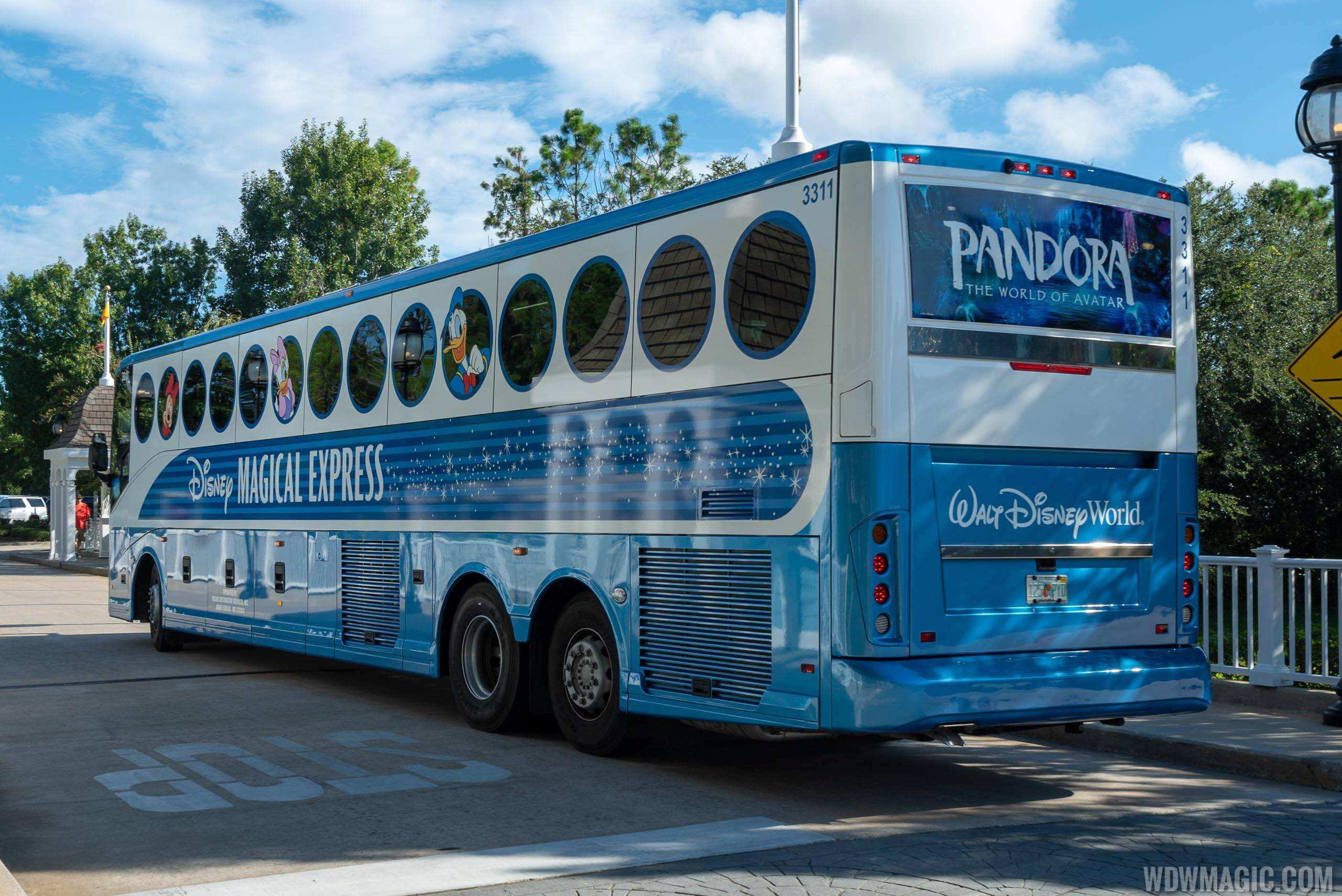 Disney Magical Express new look for 2018