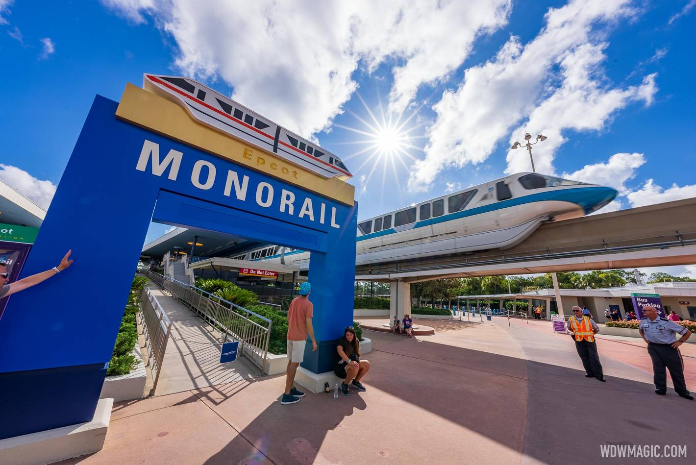 EPCOT Monorail Beam reopening July 18 2021